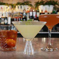 St Genevieve Austin bar Rock Rose March 2016 drink cocktails bar