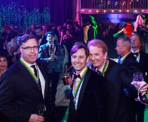 San Luis Salute, Feb. 2016, Jerry Martin, Kevin Gilliard, Frank Billingsley