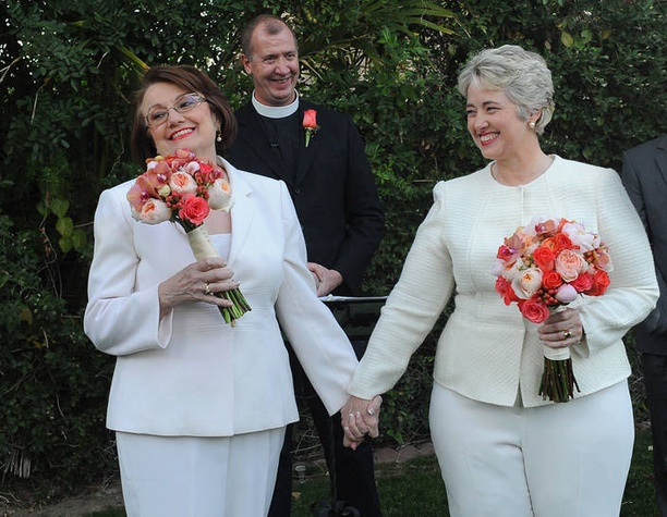 Kathy Hubbard, Annise Parker, Paul Fromberg