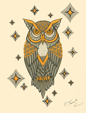Catherin Townsend Owl