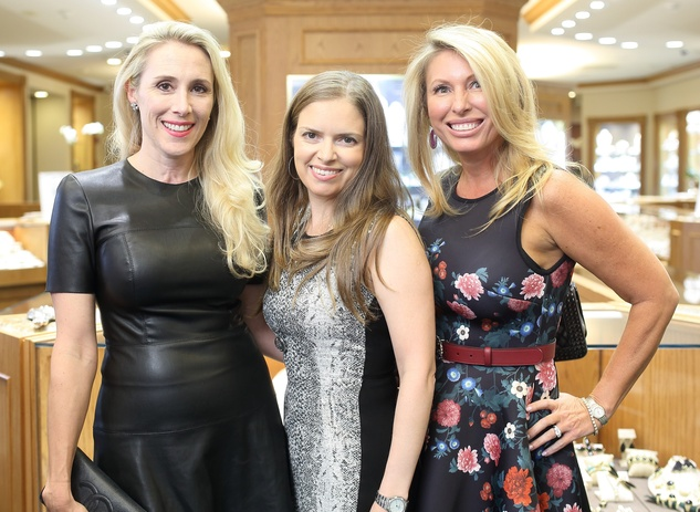 Houston, Una Notte kickoff party, October 2015, Christie Sullivan, Luba Bigman, Tiffany Wong