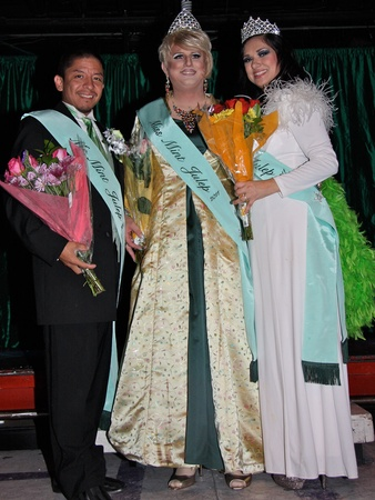 Mint Julep, Legacy Community Health Services, Miss Mint Julep - Vixen Martin, Ms. Mint Julep - Adabelle Pena, and Mr. Mint Julep - Christopher Prado