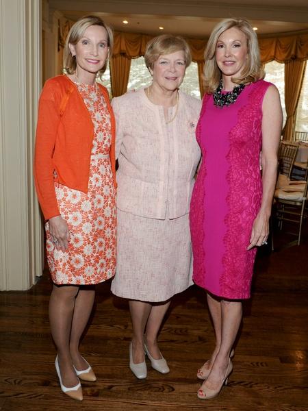 Nancy Bierman, Carolyn Miller, Karen Dealy, Salvation Army Luncheon