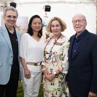 MD Anderson Aspen, July 2016, Ron DePinho, Lynda Chin, Barbara Hines, Gerald Hines
