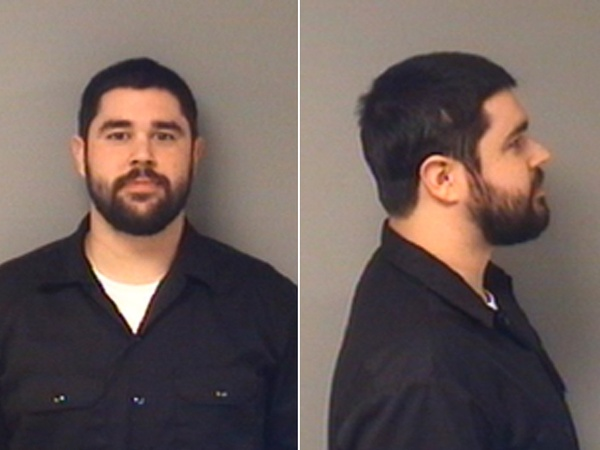 James T. Ackley, mug shot, Dallas, January 2013