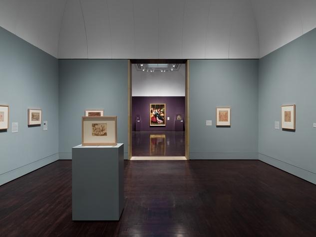 Blanton Museum of Art Paper Vault gallery installation 2017