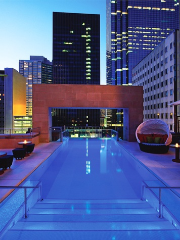 News Travel Shelby Hodge The Joule Hotel Dallas Pool