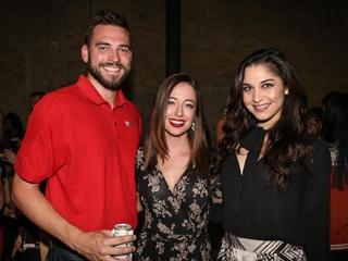 CultureMap Social Top Texans Under 30 Scott Stevens Mary Rochford Andrea Bowery