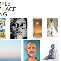 Kaitlin Merchant Davison presents People . Place . Thing opening reception