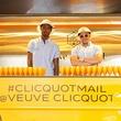 Veuve Clicquot tour mail truck