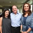 Aracelie Graham, Luis Graham, Monica Gonzales Soto at Sabores chef party