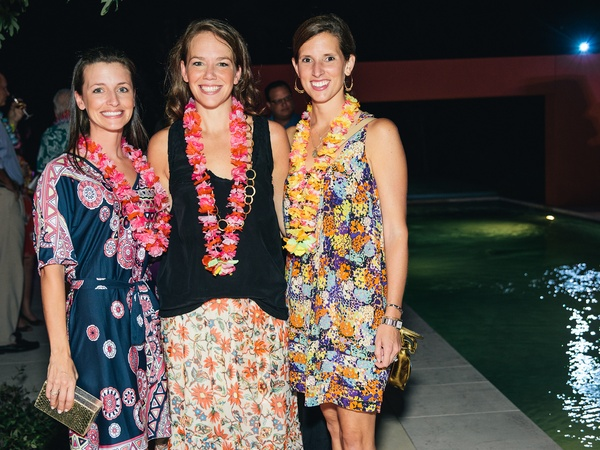 15, Bayou Preservation Association party, Lei'd on the Bayou, October 2012, Carolyn Dodson, Brittany Faulk, Sarah Jane Canion