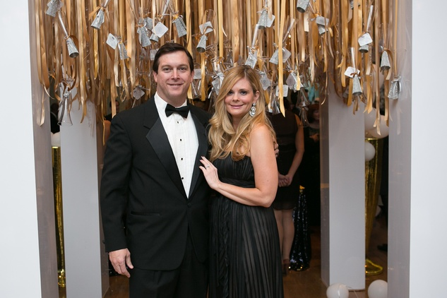 Joel and Courtney Meadows at the Junior League Gala February 2015