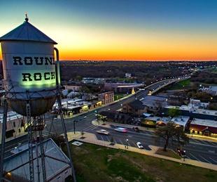 Round Rock skyline