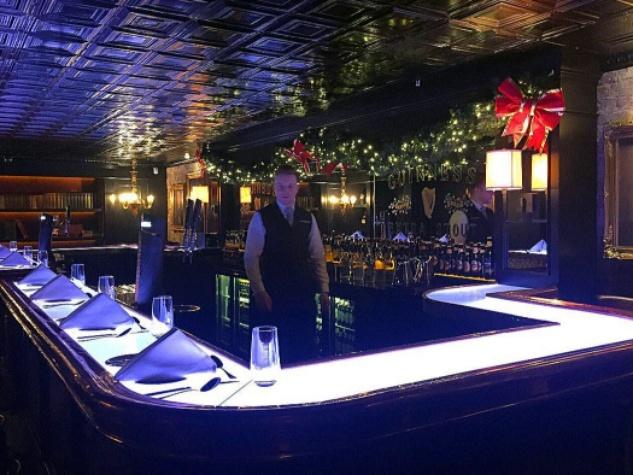 Houston, Dublin, Ireland, Connoisseur Bar at Guinness Storehouse, Sept 2017