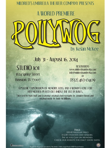 Pollywog from Mildred's Umbrella poster