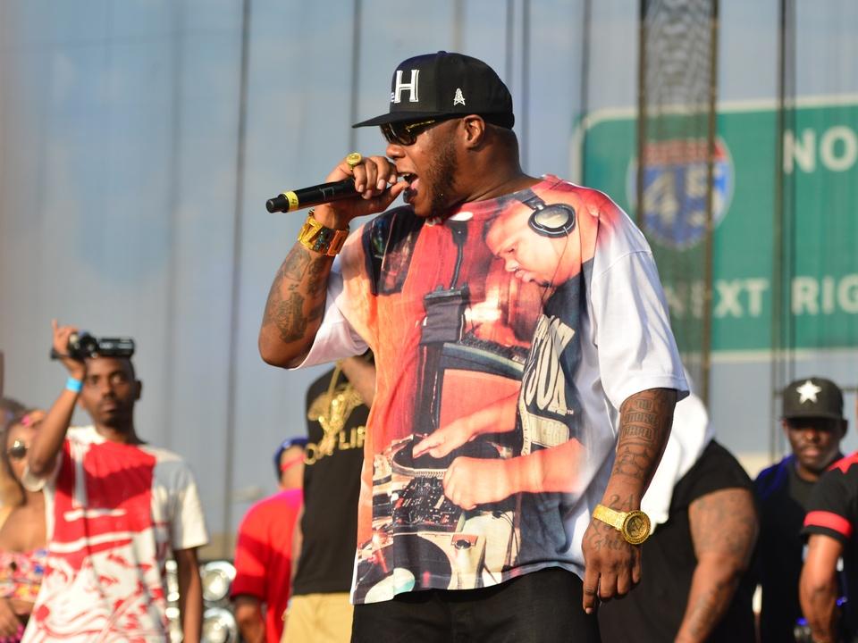 Free Press Summer Fest June 2014 rapper