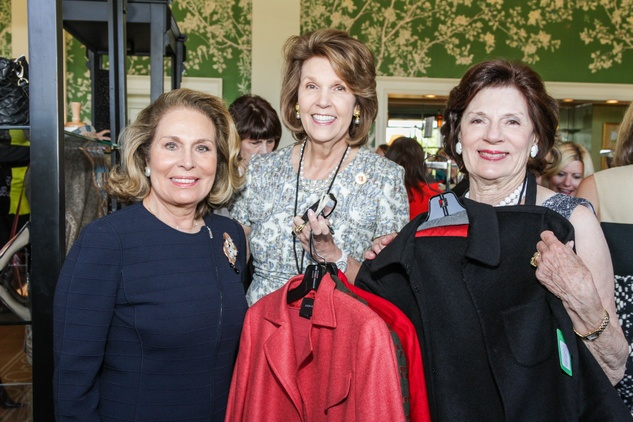 12 Ermy Borlenghi Bonfield, from left, Lilly Andress and Mary Lynn Marks at the Salvation Army luncheon April 2014