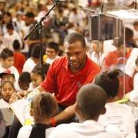 Glover Quin, United Way, reading rally