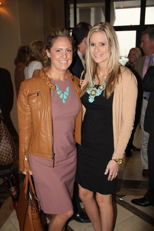 7 Cameron Byars, left, and Ashley Tidmore at the Rodeo Trailblazer Awards Luncheon February 2015