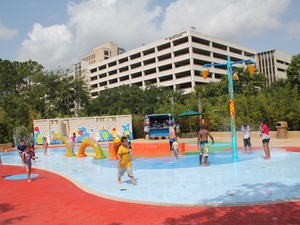 Houston Zoo, Water Play Park 2, June 2012