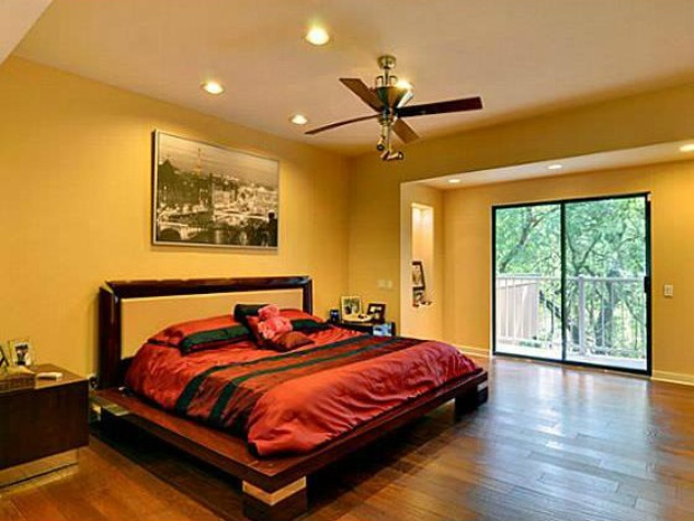 Master bedroom at 2429 N. Cooper in Arlington