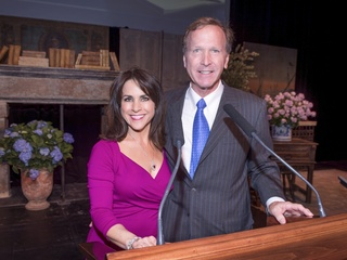 News, Celebration of Reading, Maria Bush, Neil Bush, April 2014