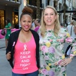 3 Brittany Frederick, left, and Lindsey Word at the West Ave Turns Pink party October 2013