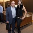 Sam Foteh and Dahlia Ganim at the David Yurman Meteorite Collection launch