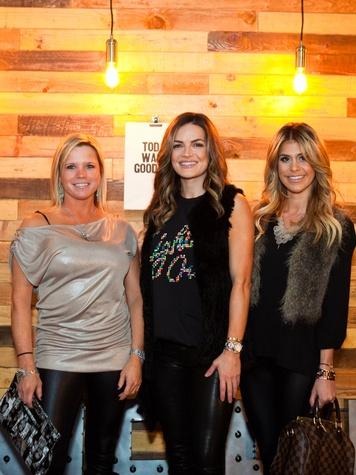 Ashley Neal, Alexis Madrid, Amanda Haag at Need anniversary party