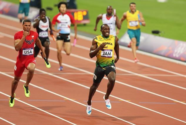 Usain Bolt relay