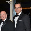 Kevin Brady, left, and Jay Guerrero at the Hispanic Chamber of Commerce Gala November 2014