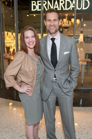 Pamela O'Brien and Lloyd Princeton at the Decorative Center Houston Fall Market October 2014