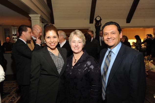 News, Shelby, Mayor Parker Award, Feb. 2015 Dr. Melissa Gonzalez, Mayor Annise Parker, Ed Gonzalez