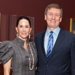 5 Liz and Tom Glanville at the MFAH opening reception for American Adversaries October 2013