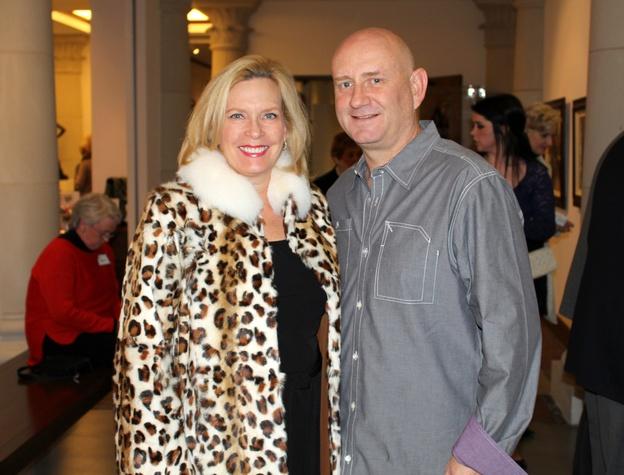 Lorrie Smith, Jeff Levine, MBA 8 X8 party