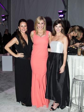 Lauren Morgan, Caroline Benoist, Meredith McElroy, Art Ball