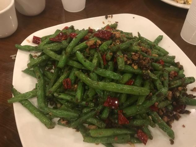Chengdu Taste - green beans