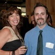Cindy Brenner and Alex Bentley at CultureMap Dallas launch party