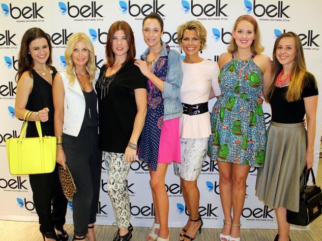 Ellen Flowers, Heather Anderson, Cynthia Smoot, Lisa Petty, Dawn Mellon, Alex Small, Chelsea Hameister, belk fashion tour, galleria dallas