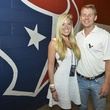 2 Texans owner's suite home opening game September 2013 Holly Smith, Austin Alvis