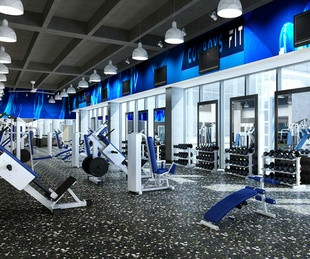 Rendering of Cowboys Fit fitness center in Frisco