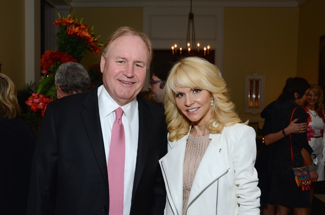 New, Shelby, Communities in School gala, April 2015, Gary and Gervaise Petersen