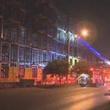 Montrose complex under construction in Montrose catches fire April 2014