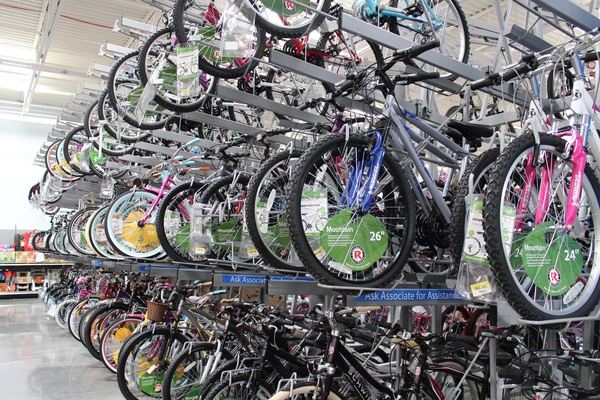 Walmart_Heights_Yale Street_bicycles