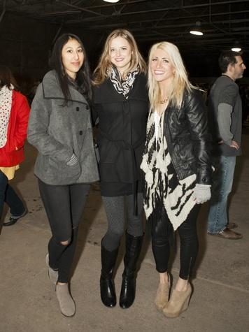 Shirley Henson, Sarah Wortham, Summer Smith at Art Con X