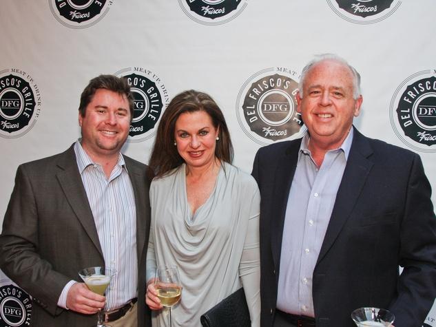 5, Del Frisco's Grille VIP party, March 2013, Craig Adams, Cathy Cagle, Richard Adams
