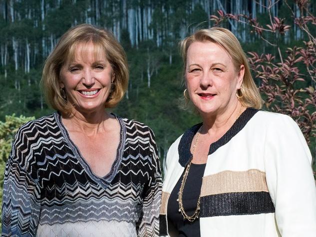 St. Luke's Hospital in Aspen July 2013 Polly Bowden and Van Bree