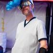 Bayou City Art Festival, Art Heist, October 2012, Christy Douglas Brookover as Spacey DeBris