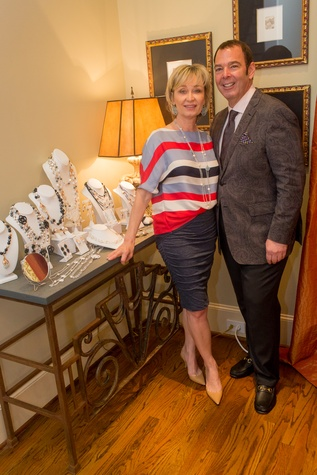 Houston,  Vivian Wise and Peter Martino jewelry party, May 2015, Cathy Borlenghi, Peter Martino